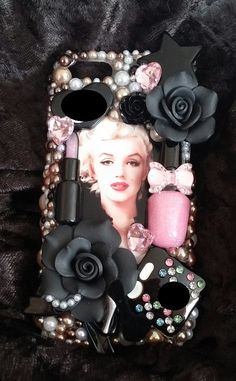 Marilyn Monroe Multiple Make Up Handmade Cell by ExpressiveCases