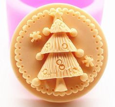 Creativemoldstore 1pcs Christmas Tree (C422) Craft Art Silicone Soap Mold Craft Molds DIY Handmade Soap Mould ** Check out the image by visiting the link.