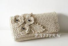 Crochet Pattern Crochet Bag Pattern crochet purse от isWoolish
