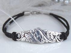 Spoon Jewelry Bracelet ,Spoon Bracelet, HAND SCULPTED Silver Bracelet, Silver Spoon Bracelet, Silverware Bracelet, Vintage Wedding -