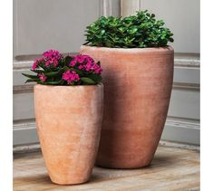 Belize Tall Bowl Planter - Set of 2 | Pottery Barn