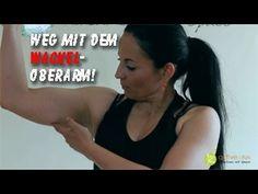 Schöne Arme in 10 Wochen. Teil 1: Übungen für den Trizeps (Abnehmen mit Silke Kayadelen) - YouTube