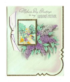 Vintage UNUSED MOTHER'S DAY Greetings to Husband's