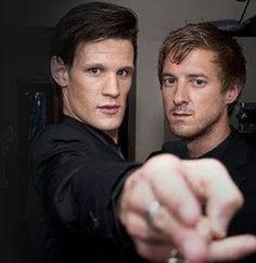 Matt and Arthur