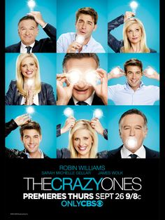 Tv Shows Over The World: The Crazy Ones 2013-2014