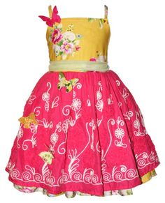 O. M. Geez. This dress is so freaking cute!!! Moxie & Mabel Daffodil Paloma Dress With Butterfly Pins