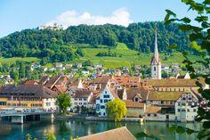 Three Incredible Day Trips from Zurich - Rhine Falls, Stein am Rhein, and Lichtenstein!