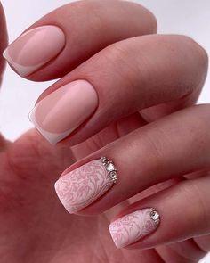36 Cute Nail Design Ideas For Stylish Brides ❤ #weddingforward #wedding #bride #naildesign #bridalbeauty