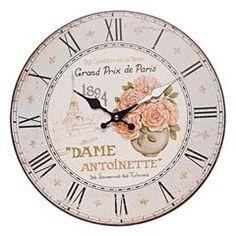 MDF WALL CLOCK PARIS 34(4)