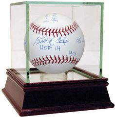 "Bobby Cox Signed MLB Baseball w/ ""HOF 2014, 91, 04, 05 NL MOY, 85 AL MOY, 2,504 Wins, 95 WS Champs"" Insc. (LE of 14) (MLB Auth)"