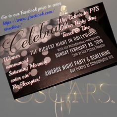 Oscar Viewing Party @The PrincePFS - Win tickets to attend this Sunday 2/28 contest closes 2/26 midnight!
