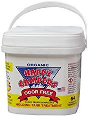 Happy Campers Organic RV Holding Tank Treatment - 64 treatments - Products Lists of Tools and Hardware
