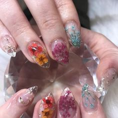 cute nail designs that are so perfect for summer 2019 21 - Nail art - Nail Design Stiletto, Nail Design Glitter, Clear Acrylic Nails, Clear Nails, Cute Nails, Pretty Nails, My Nails, Cute Nail Designs, Acrylic Nail Designs