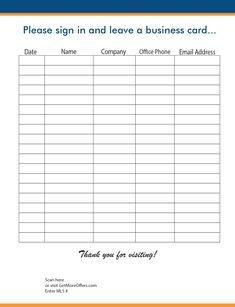 Open House Sign In Sheet | BEST SELLER | Real Estate Forms | Open ...