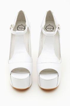 Foxy Platform - White