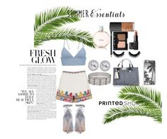 """I love summer"" by daisymomo on Polyvore featuring River Island, Topshop, T By Alexander Wang, Valentino, Chanel, NARS Cosmetics, Cartier and Zero Gravity"