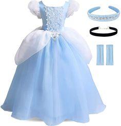 Princess Fancy Dress, Disney Princess Dresses, Fancy Dress Up, Princess Costumes, Halloween Fancy Dress, Little Girl Dress Up, Girls Dress Up, Frocks For Girls, Wedding Dresses For Girls