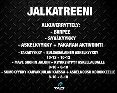 jalkatreeni Periodic Table, Workout, Periodic Table Chart, Periotic Table, Work Out, Exercises
