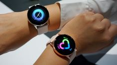 First look at Samsung's sleek Galaxy Watch Active High End Watches, Cool Watches, Women's Watches, Modern Watches, Mobile Technology, New Technology, Latest Smartwatch, Active Watch, Android Watch