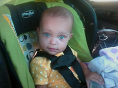 This kid is a bit scary looking though. and she is biracial also.