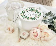 Will you be my Maid of Honor Proposal Box Ideas - what to fill them with and how to decorate Bridesmaid Proposal Box, Bridesmaid Gifts, Round Gift Boxes, Pregnant Bridesmaid, Bachelorette Party Gifts, Burgundy Bridesmaid Dresses, Will You Be My Bridesmaid, Groomsman Gifts, Maid Of Honor