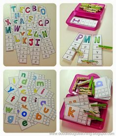 Back to School Clip Cards