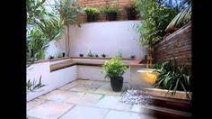 Image result for small courtyard garden design ideas