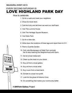 LOVE HIGHLAND PARK DAY