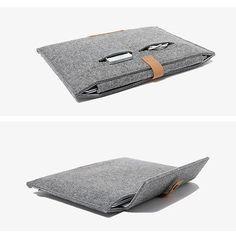 "For Apple MacBook Air Pro11"" 12"" 13"" 15"" Felt Sleeve Laptop Case Cover Bag"