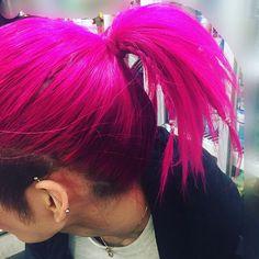 WEBSTA @ _h_m_yyy - #ヘアセット #歌舞伎町 #hairstyle #メンズセット #派手髪 #マニパニ#メッシュ#三つ編み