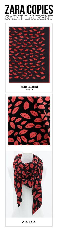 Zara Copies Saint Laurent