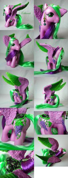 Cabernet the pegasus pony by Woosie.deviantart.com on @deviantART