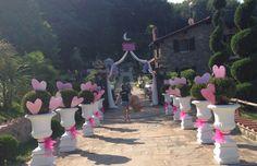 L ingresso che conduce in un luogo incantato per un Matrimonio da Favola