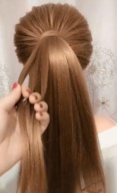 # two Braids peinados Beautiful hairstyle Box Braids Hairstyles, Girl Hairstyles, Hairstyles Videos, Elvish Hairstyles, Drawing Hairstyles, Hair Style Vedio, Curly Hair Styles, Natural Hair Styles, Hair Upstyles