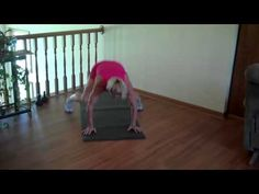 """Do a few """"Plank Frogs"""" and you'll have a strong tight core. http://GreatAdvice.TV"""