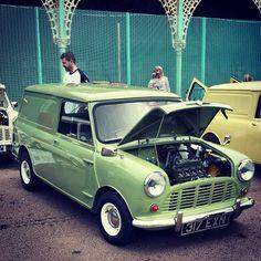 1960s Mini Cooper Van Cool Cars Mini Trucks Mini Cooper