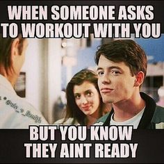 What do you do when someone wants to train with you, but you know they can't keep up? #workout #workoutbuddy #gym #exercise #fitness #instafit #deerantlerspray #fitfam #getfit #lift