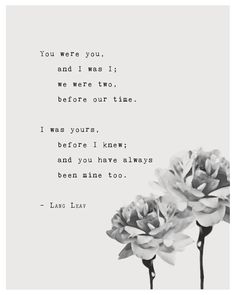 Quotes Discover Lang Leav poetry art print you were you and I was I typography art poster - Sprüche - Quotes Poem Quotes Cute Quotes Words Quotes Lang Leav Quotes Sayings Cute Inspirational Quotes Profound Quotes Star Quotes Advice Quotes Now Quotes, Soulmate Love Quotes, Deep Quotes, Cute Quotes, Words Quotes, Soul Mate Quotes, Advice Quotes, Qoutes, Wedding Quotes And Sayings