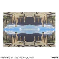 Temple of Apollo – Delphi Fabric