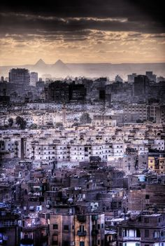 Cairo.. Love the pyramids in the distance