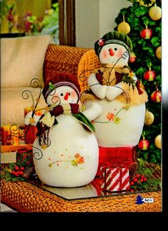 look what i found on zulily flower snowmen couple figurine by ziabella zulilyfinds - PIPicStats Christmas Sewing, Christmas Mood, Christmas Snowman, All Things Christmas, Christmas Ornaments, Snowman Crafts, Christmas Projects, Christmas Crafts, Christmas Decorations