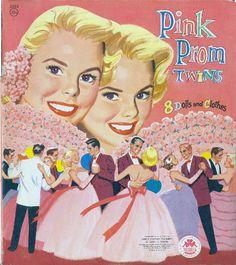 Pink Prom Twins