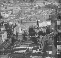 Legnano, Panorama di Legnano, anni '70. #Legnano #City #Città #Sky