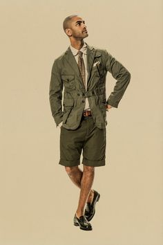 See the complete Engineered Garments Spring 2015 Menswear collection.