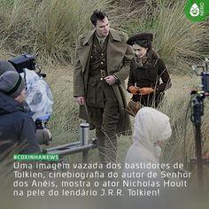 #CoxinhaNews O filme irá contar a juventude do lendário autor antes do começo da Primeira Guerra Mundial em 1914. Ainda não há data para o lançamento.  #TimelineAcessivel #PraCegoVer  Imagem dos bastidores do filme Tolkien com a notícia: Uma imagem vazada dos bastidores de Tolkien cinebiografia do autor de Senhor dos Anéis mostra o ator Nicholas Hoult na pele do lendário J.R.R. Tolkien!  TAGS: #coxinhanerd #nerd #geek #geekstuff #geekart #nerd #nerdquote #geekquote #curiosidadesnerds…