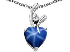 blue star sapphire necklace