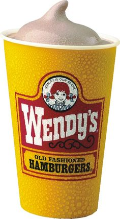 Homemade Wendy's Chocolate Frosty