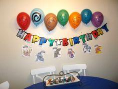 skylanders birthday party | The Brown Eyes Have It: Skylanders Birthday Party