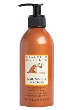 Crabtree & Evelyn 'Gardeners' Hand Therapy Pump (8.8 oz.) available at #Nordstrom