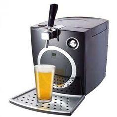 Dispensador de cerveza Domoclip DOM330 - Máquina dispensadora para cerveza Domoclip, sistema cerveza de barril para casa que permite su utilización con topo tipo de barriles de 5 Litros estándar o con sistema de presión integrada, dispone de sistema de bomba integrado para utilización de barril no comprimido o sin presión. Fijación de la temperatura por LED, para disfrutar de la caña de cerveza fría siempre a la temperatura deseada al tener la posibilidad de graduar la temperatura…